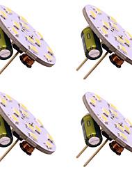 cheap -4pcs G4 12 Leds 3528 2W AC12V DC12-24V Corn Led Mini Lampada Led Bulb Beads Dimmable Decorative Warm White Daylight White