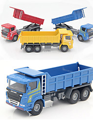 cheap -1:60 Plastic Metal Truck Toy Truck Construction Vehicle Construction Truck Toys Boys and Girls Car Toys
