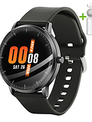 cheap -JSBP HN66 Smart Watch Body Temperature Test BT Fitness Tracker Support Notify Full Touch Screen/Heart Rate Monitor Sport Stainless Steel Bluetooth Smartwatch Compatible IOS/Android Phones