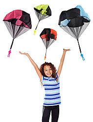 cheap -Kids Hand Throwing Parachute Toy For Children's Educational Parachute With Figure Soldier Outdoor Fun Sports Play Game