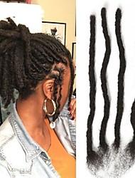 cheap -Bulk Hair Human Hair Extensions Straight Shimmer Human Hair Extension Dreadlocks / Faux Locs Afro Kinky Braids Burmese Hair Natural 3 Pieces Extention Natural New Arrival Unisex Natural Black #1B