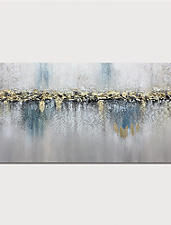 cheap -Oil Painting Paint Handmade Abstract Landscape Canvas Art Modern Art with Stretcher Ready to Hang With Stretched Frame