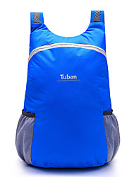cheap -Tuban 18 L Lightweight Packable Backpack Daypack Commuter Backpack Packable Waterproof Ultra Light (UL) Multifunctional Foldable Outdoor Camping / Hiking Cycling / Bike 600D Polyester Blue Purple