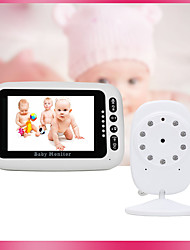 cheap -4.3-inch Wireless Video Baby Monitor Nursing Instrument Necessary Monitoring Equipment For Elderly Infant Safety Intercom Night Vision Baby Music Led Temperature Monitoring