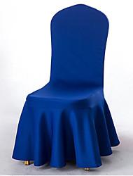halpa -2 kpl joustavaa universaalia, helposti asennettavaa ruokasalin tuolien kansihameella, irrotettava, pestävä, likainen huonekalusuoja lapsille lemmikkieläimille kodiseremonia bankettitilat hääjuhlat