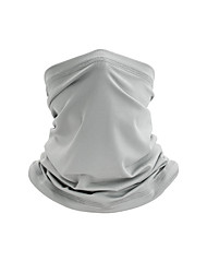 cheap -Neck Gaiter Neck Tube Balaclava Bandana Mask Women's Men's Unisex Headwear Solid Colored UV Sun Protection Dust Proof Cooling for Fitness Running Cycling Autumn / Fall Spring Summer White Black Army
