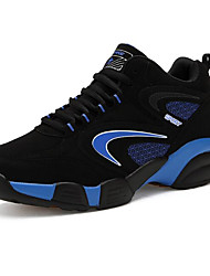 cheap -Men's Trainers Athletic Shoes Comfort Shoes Outdoor Basketball Shoes Trail Running Shoes Nubuck Black Red Blue Fall Spring