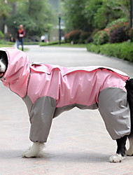 cheap -9 colors optional, 10 sizes, waterproof 4 legs pets raincoat for small medium large dogs