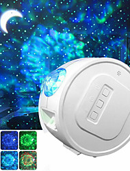 cheap -Star Projector LED Galaxy Night Light Projector Moon Stars Nebula Ocean Lamp Galaxy Projector Rotation Light