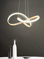 cheap -1-Light Modern Sputnik Chandelier Metal Simplicity LED Pendant Lights Living Room Bedroom Restaurant