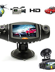 cheap -2.7 ''Full HD 1080 p Dual Lens 140 Graden Groothoek Originele auto DVR Auto Video Auto Camera Recorder dash Cam G-Sensor GPS Logger