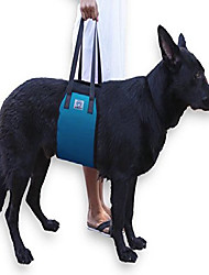 cheap -large blue dog lift support harness canine aid - lifting older k9 with handle for injuries, arthritis or weak hind legs & joints. medium and large breed assist sling for mobility &