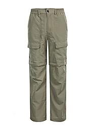 cheap -lightweight quick-dry outdoor convertible cargo hiking pants khaki