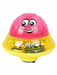 cheap -children's bath spray toy automatic induction spray water bath toys children drifting rotating pool toys children's gifts