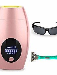 cheap -ipl hair removal device for women and man 990,000 flashes hair removal system permanent painless facial body professional hair remover wholebody home use(white-purple)