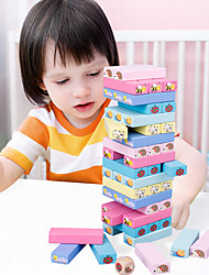cheap -Ice Cream Tower Balancing Game Animals Door Sticker Geometric Pattern Kids All 1 pcs / Parent-Child Interaction