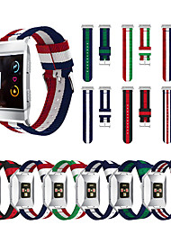 cheap -For Fitbit Ionic Bands Breathable Comfortable Adjustable Wrist Replacement Nylon sport WristBands for Fitbit Ionic