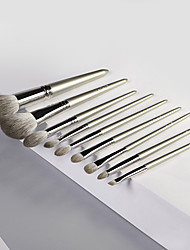 cheap -9 Pcs makeup brush set fox hair series animal hair makeup brushes makeup brushes tool