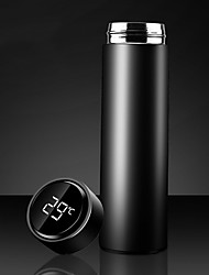 cheap -500ML Intelligent Thermos Water Bottle Stainless Steel Vacuum Flasks Temperature Display Mug Tea Flask Thermos Cup Coffee Mug