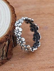cheap -Ring Silver Alloy Flower Shape Simple European Cute 1pc 5 6 7 8 9 / Women's