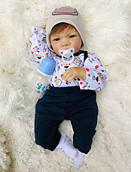cheap -Otard Dolls 20 inch Reborn Baby Doll Baby Boy Baby Girl lifelike Gift Cute Tipped and Sealed Nails Natural Skin Tone 3/4 Silicone Limbs and Cotton Filled Body with Clothes and Accessories for Girls