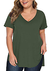 cheap -womens stretchy round neck t shirt cold shoulder tee shirts
