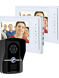 cheap -Wired 7 Inch Monitor Video Doorbell Intercom with Infrared Night Vision Camera Video Doorphone System