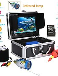 cheap -MOUNTAINONE F001MD-20M 20M  7'' inch 1000TVL Fish Finder HD DVR Recorder Waterproof Fishing Video Underwater Fishing Camera 12 PCS LED Infrared Lamp Lights