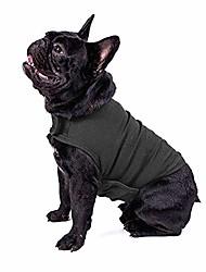 رخيصةأون -سترة قلق الكلب العلاج الفوري للكلاب القلق على الإثارة تخفيف التوتر معطف القلق خفيف الوزن سترة مهدئة قماش دافئ وناعم التفاف للحيوانات الأليفة رمادي غامق