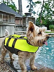cheap -dog life jacket - folding dog life vest,portable airbag dog swimming jacket vest,green,small