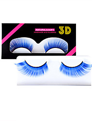 cheap -1 Pair False Eyelashes Eyelash Extensions Fashionable Design Cosplay Fiber Halloween Festival Thick Halloween Makeup Fashion Cosmetic Grooming Supplies