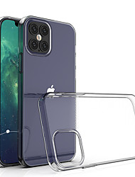cheap -Transparent Shockproof Soft Silicone Case for iPhone 12 11 Pro Max X XR XS 8 7 6 6S Plus SE 2020 Case 360 Silicone Protect Cover