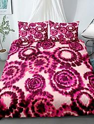 cheap -Home Textiles 3D Print Bedding Set Duvet Cover Set with Pillowcase,2/3 pcs Duvet Cover Sets Tie Dye Print Bedding Set
