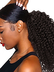 cheap -Synthetic Wig Curly Afro Curly Pixie Cut Wig Short Black Synthetic Hair 14 inch Women's Fashionable Design Party Comfortable Black