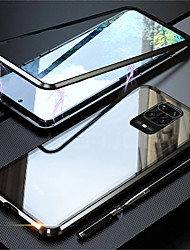 cheap -360 Magnetic Adsorption Metal Case For Xiaomi Redmi 9 10X 4G 5G Note 9 9S 8Pro 8T 7S k30 k20Pro Poco F2Pro  Double-Sided Glass Case For  Magnet Cover