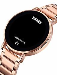 cheap -men's watch waterproof digital sports watch touch screen stailesd steel wrist watch