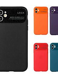billige -etui til apple iphone 11 iphone 11 pro iphone 11 pro max stødsikker bagcover ensfarvet tpu til iphone xs max iphone xr iphone xs