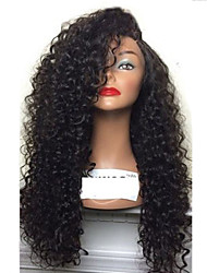 cheap -Synthetic Wig Curly Afro Curly Pixie Cut Wig Long Black Synthetic Hair 28 inch Women's Party Classic Comfortable Black