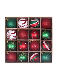 cheap -2 Boxes 32 Pcs Christmas Balls Ornaments for Xmas Tree - Shatterproof Christmas Tree Decorations Hanging