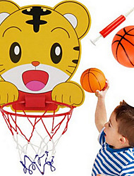 cheap -Balls Basketball Toy Racquet Sport Toy Basketball Hoop Basketball Hoop Set Portable Adjustable Sports Basketball Indoor Plastics 3-6 years old Boys and Girls / Kid's