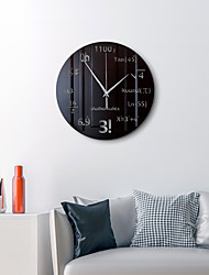 cheap -Modern Wall Clock, 16 Inch Silent Non-Ticking Mirror Wall Clocks Battery Operated Decorative Wall Clock for Office, Kitchen, Living Room