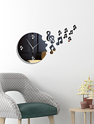 cheap -Modern Design Irregular Shape DIY Wall Clock 3D Acrylic Mirror Clock With Quartz Needle For Living Room Bedroom