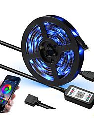 cheap -1set 5V Led Strip USB 5050 SMD Flexible RGB Tape Led Ribbon WIFI Led Strip Light TV Backlight APP Music Control