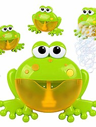 cheap -Frogs Bubble Bath Toy | Music Nursery Rhyme Bubble Blower Machine For Toddler | Let Baby Love Bathing