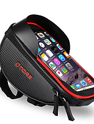 cheap -ROCKBROS Cell Phone Bag Bike Frame Bag Top Tube Bike Handlebar Bag Touch Screen Reflective Waterproof Bike Bag TPU Polyster EVA Bicycle Bag Cycle Bag iPhone X / iPhone XR / iPhone XS Road Bike