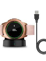 cheap -Smart Watch Wireless Charger for Samsung Galaxy Watch 42 / 46mm Charger Charging Base for Galaxy Gear S2 / S3