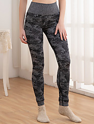 cheap -women& #39;s high waisted camo seamless yoga pants 7/8 length capri leggings & #40;w426-black-l& #41;