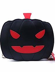cheap -kuang women pumpkin crossbody bags halloween devil purse fashion trick or treat shoulder handbag girls tote