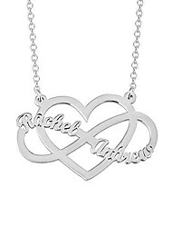 cheap -Personalized Customized Necklace Stainless Steel Letter Gift Daily Promise 1pcs Rose Gold Gold Silver