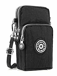 cheap -cell phone purse crossbody iphone, mobile phone bag wallet handbag, arm package, travel wallet bag for women men (black)